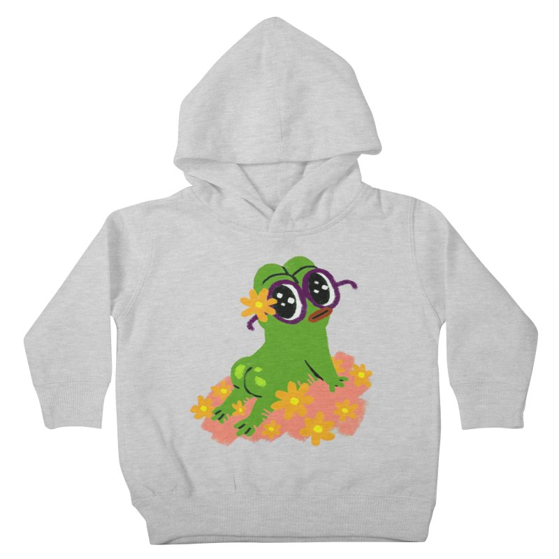 Aiden Jimeno  Kids Toddler Pullover Hoody by Save Pepe