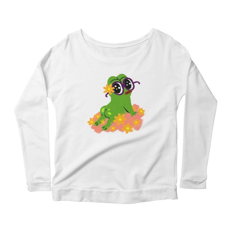 Aiden Jimeno  Women's Scoop Neck Longsleeve T-Shirt by Save Pepe
