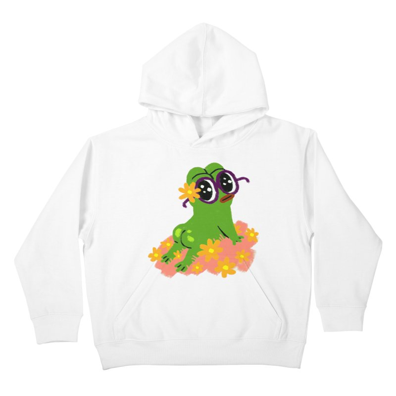 Aiden Jimeno  Kids Pullover Hoody by savepepe's Artist Shop