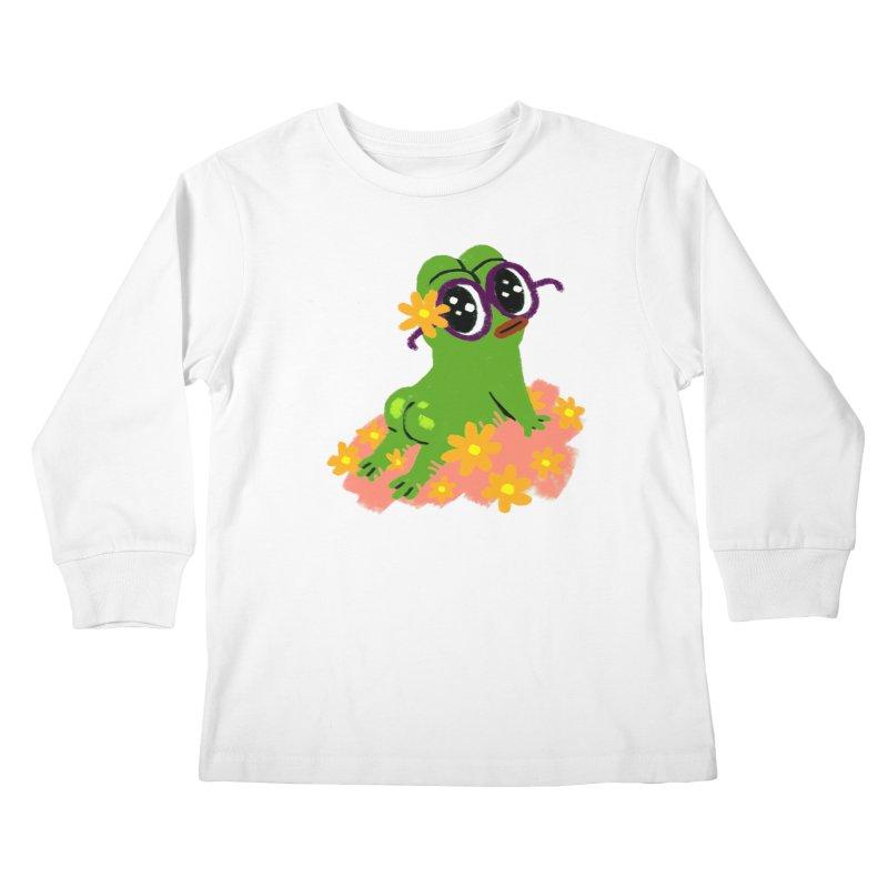 Aiden Jimeno  Kids Longsleeve T-Shirt by savepepe's Artist Shop