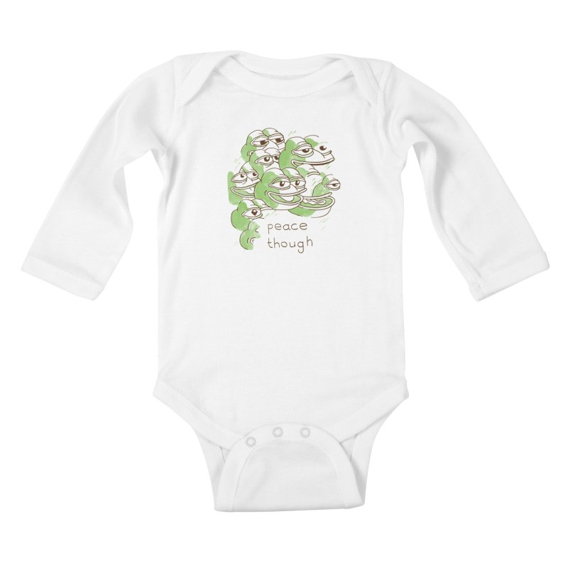Peter Steineck Kids Baby Longsleeve Bodysuit by savepepe's Artist Shop