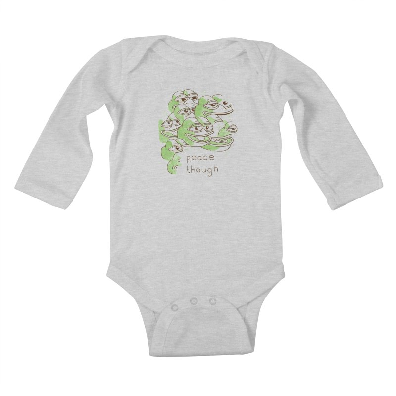Peter Steineck Kids Baby Longsleeve Bodysuit by Save Pepe