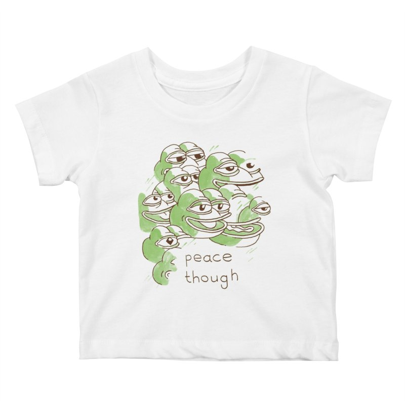 Peter Steineck Kids Baby T-Shirt by Save Pepe