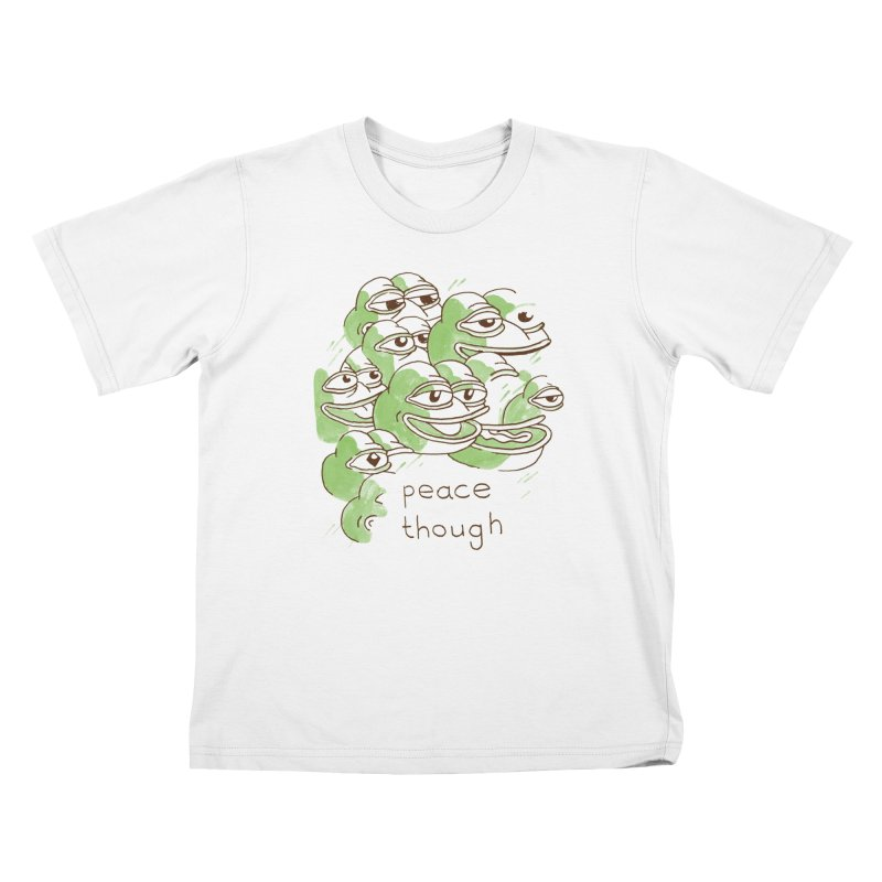 Peter Steineck Kids T-Shirt by Save Pepe