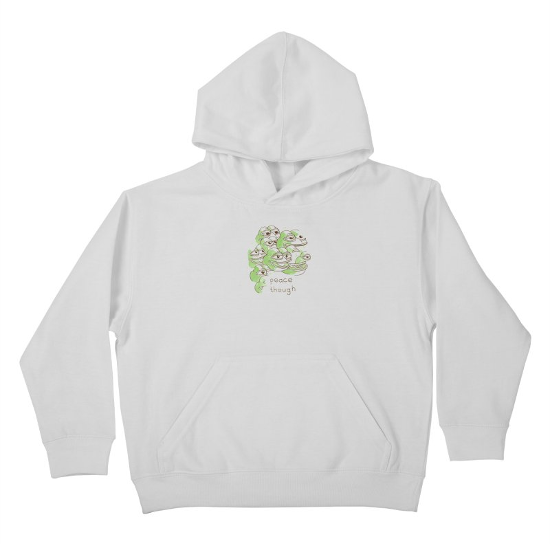 Peter Steineck Kids Pullover Hoody by Save Pepe