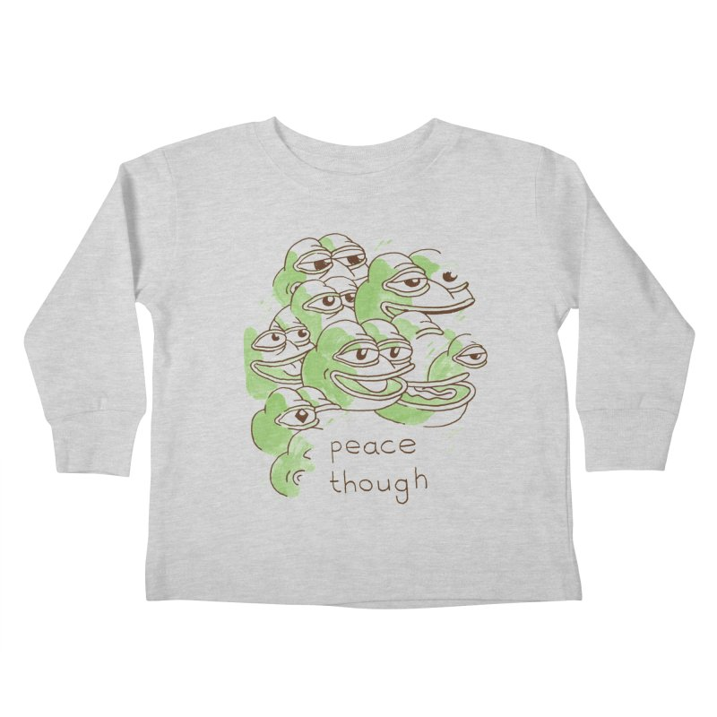 Peter Steineck Kids Toddler Longsleeve T-Shirt by Save Pepe