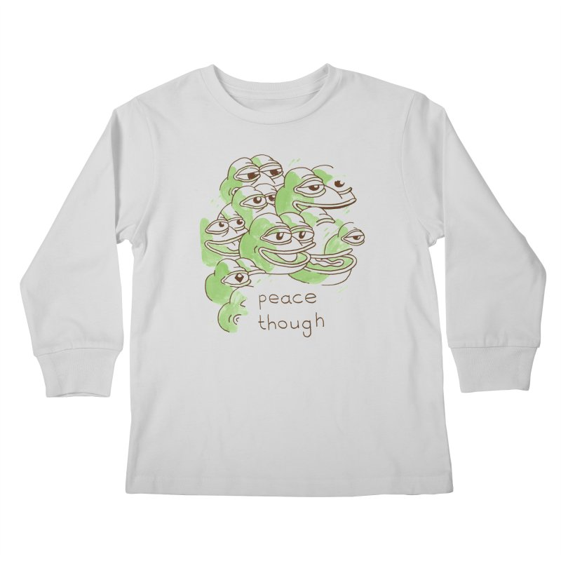 Peter Steineck Kids Longsleeve T-Shirt by Save Pepe