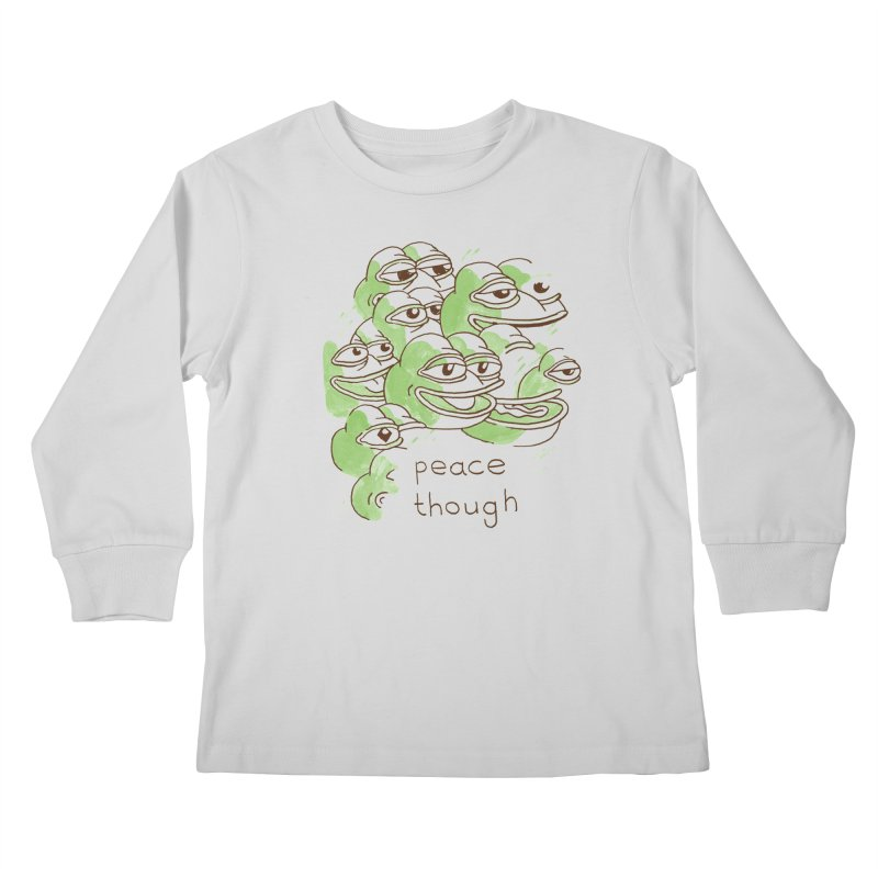 Peter Steineck Kids Longsleeve T-Shirt by savepepe's Artist Shop