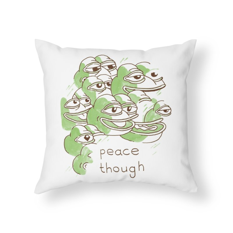 Peter Steineck Home Throw Pillow by Save Pepe