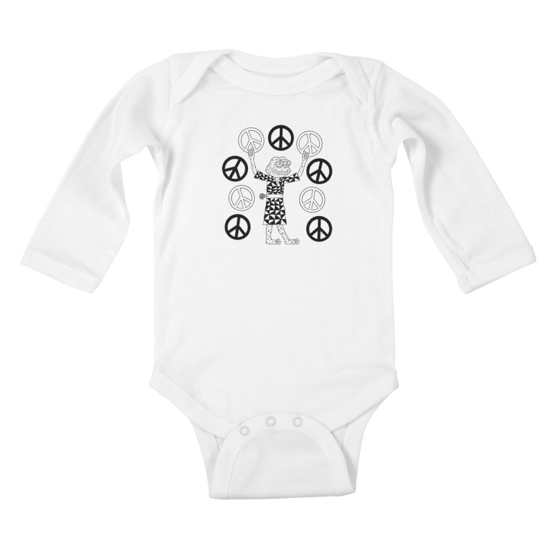 Matt Leines Kids Baby Longsleeve Bodysuit by Save Pepe