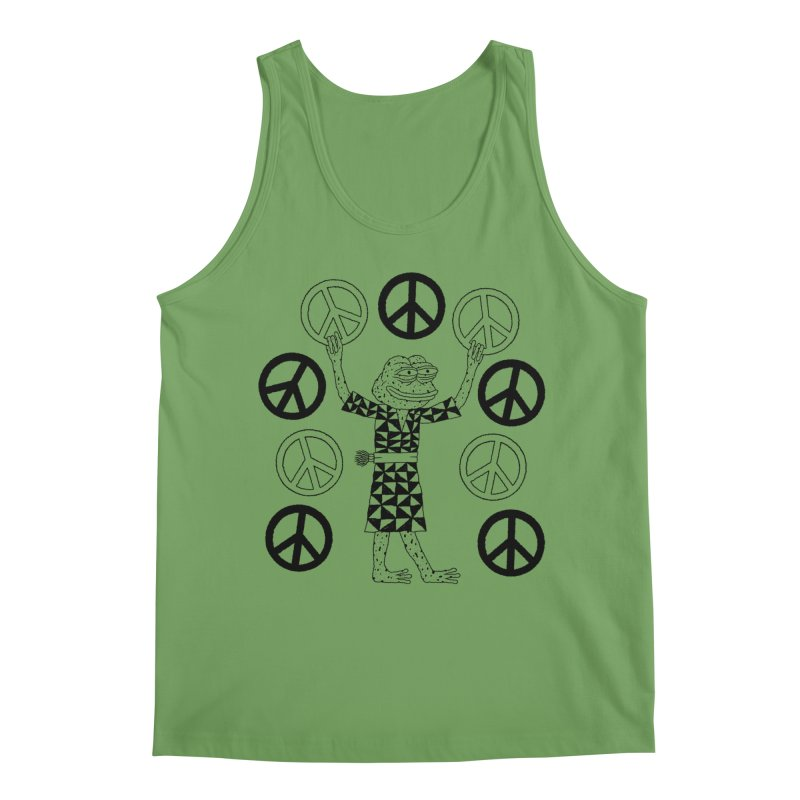 Matt Leines Men's Tank by Save Pepe