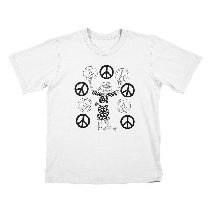 Matt Leines Kids T-Shirt by Save Pepe