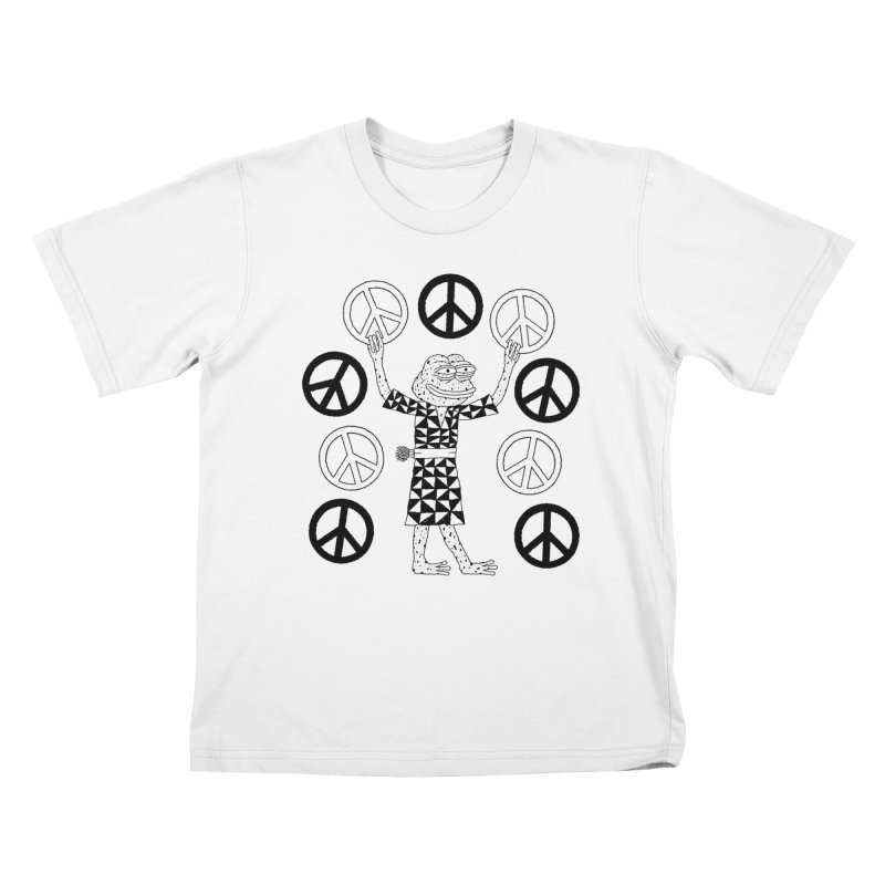 Matt Leines Kids T-Shirt by Save Pepe