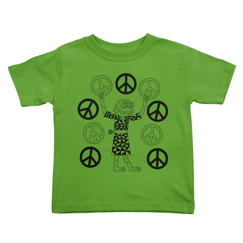 Matt Leines Kids Toddler T-Shirt by Save Pepe