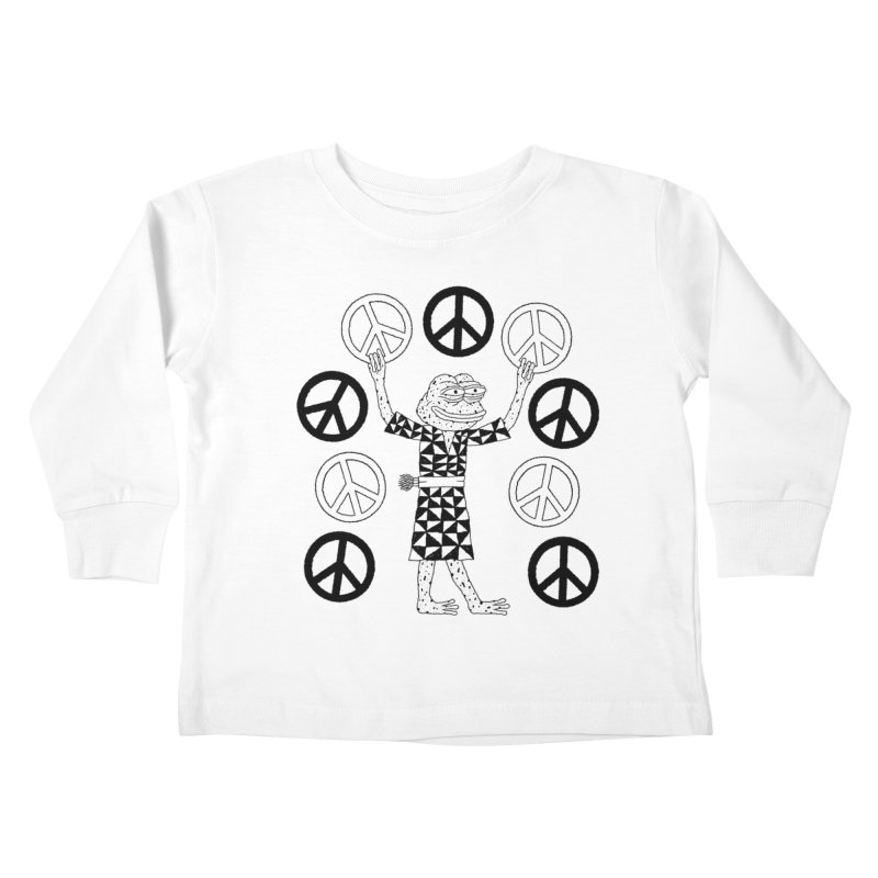 Matt Leines Kids Toddler Longsleeve T-Shirt by Save Pepe