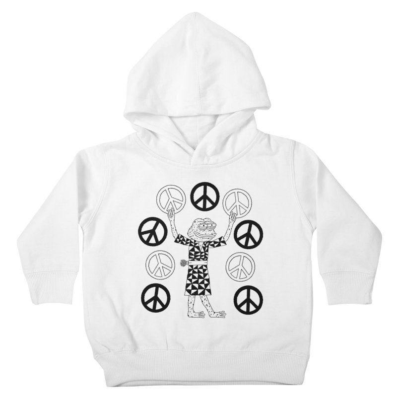 Matt Leines Kids Toddler Pullover Hoody by Save Pepe