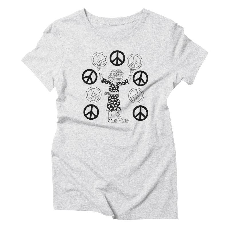 Matt Leines Women's Triblend T-Shirt by Save Pepe