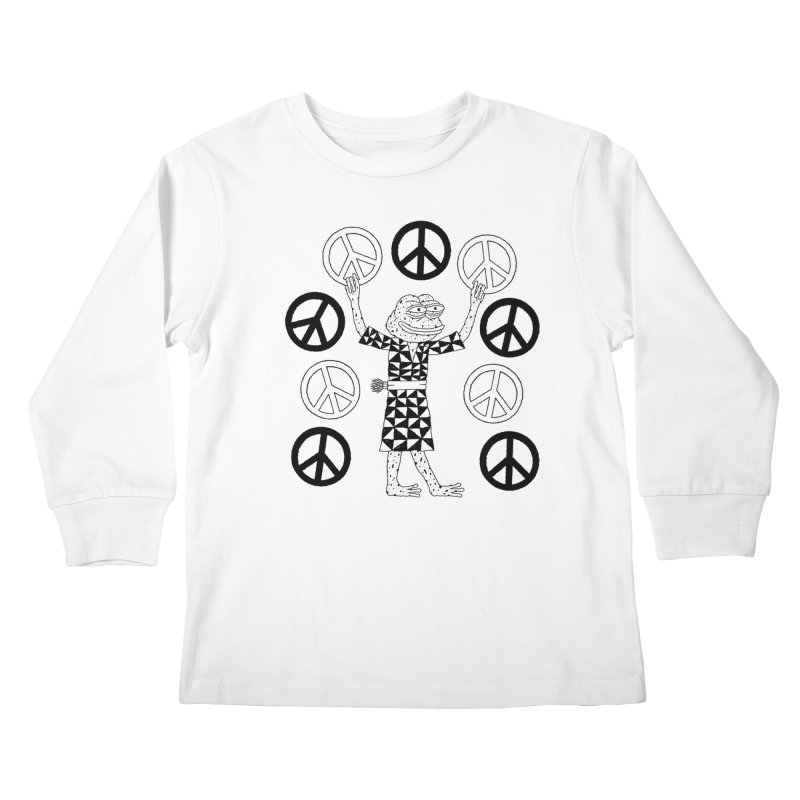 Matt Leines Kids Longsleeve T-Shirt by savepepe's Artist Shop