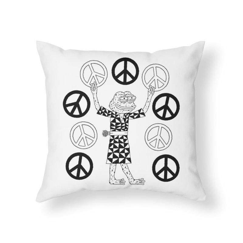 Matt Leines Home Throw Pillow by Save Pepe