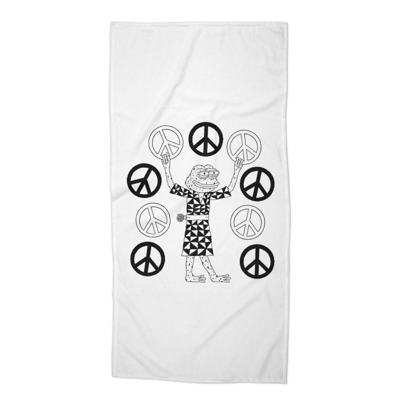 Matt Leines Accessories Beach Towel by savepepe's Artist Shop