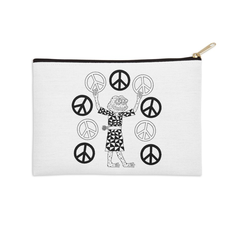 Matt Leines Accessories Zip Pouch by Save Pepe