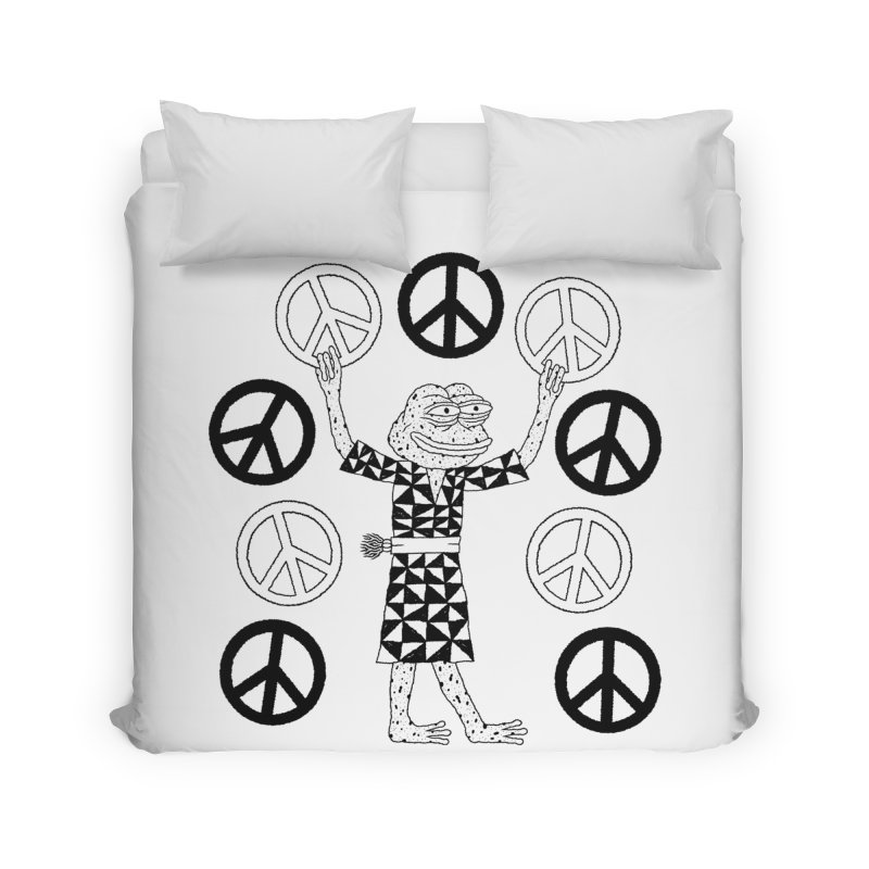 Matt Leines Home Duvet by Save Pepe