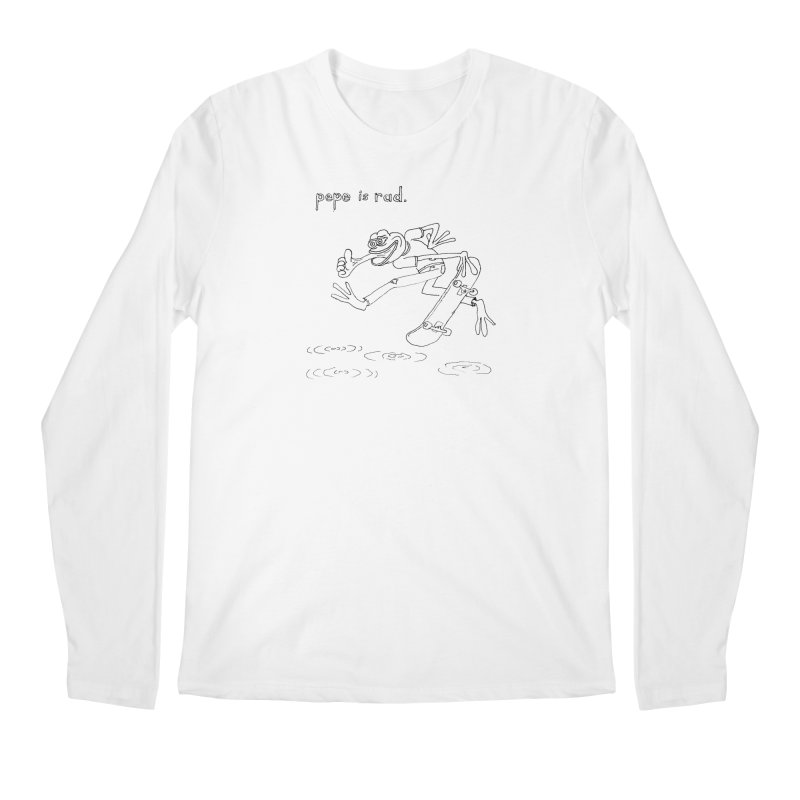 Devin Flynn Men's Regular Longsleeve T-Shirt by Save Pepe