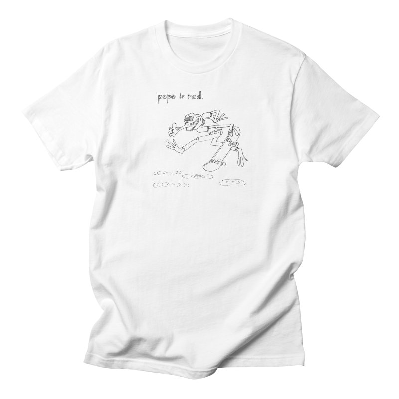 Devin Flynn Men's T-Shirt by Save Pepe