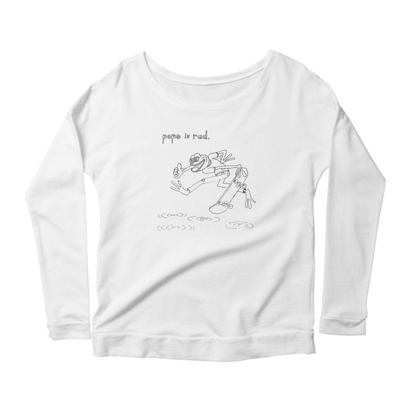 Devin Flynn Women's Longsleeve T-Shirt by Save Pepe