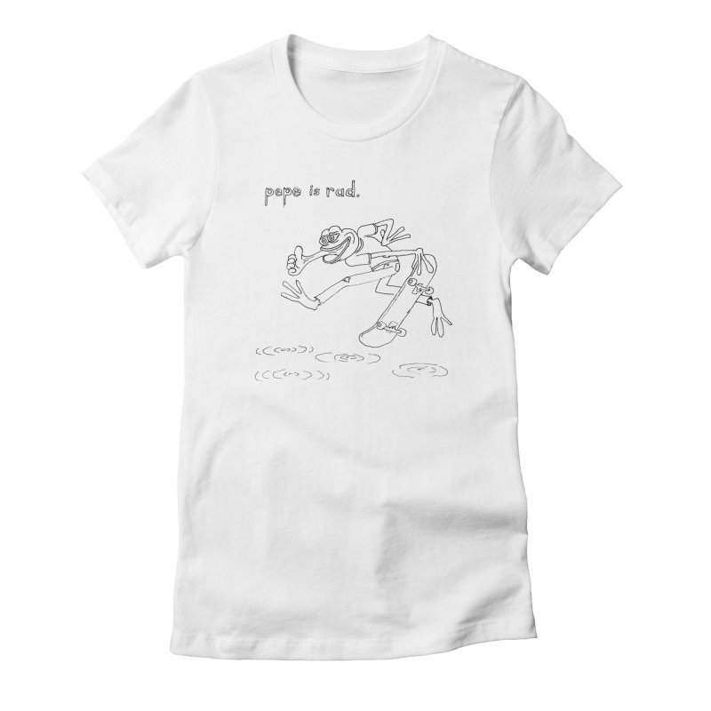 Devin Flynn Women's Fitted T-Shirt by savepepe's Artist Shop