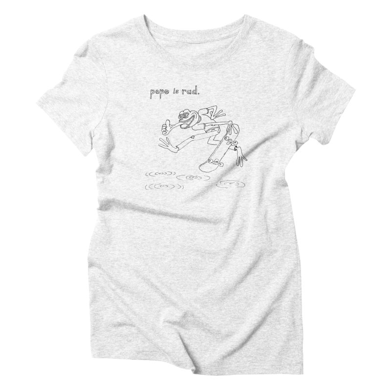 Devin Flynn Women's Triblend T-shirt by savepepe's Artist Shop