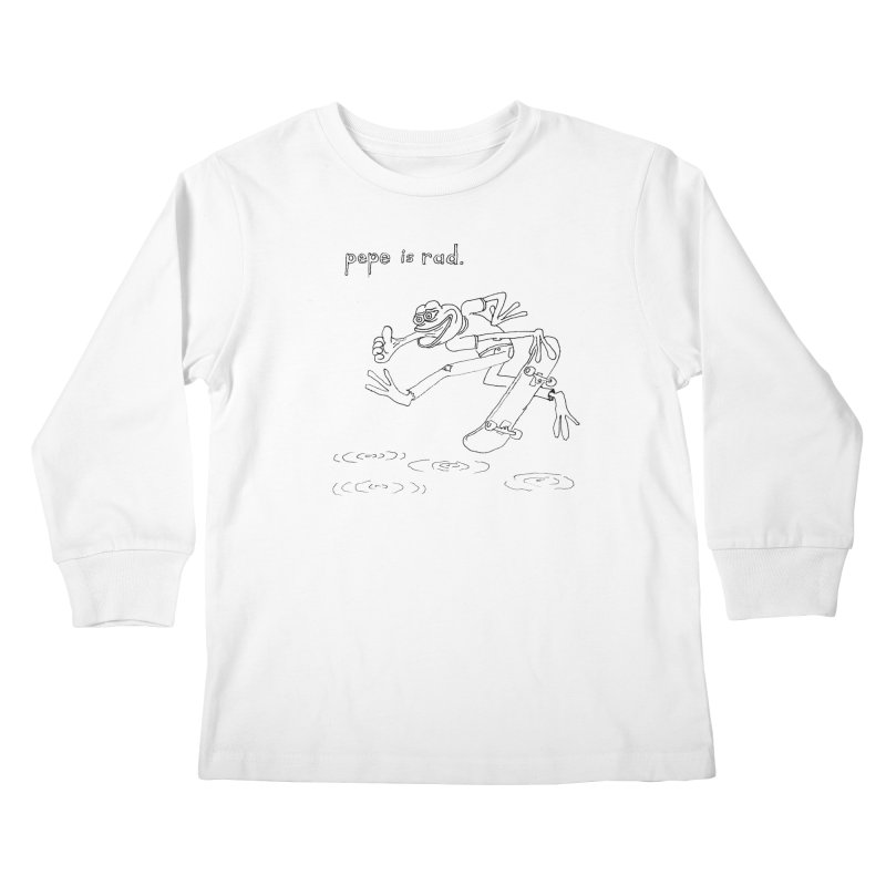 Devin Flynn Kids Longsleeve T-Shirt by savepepe's Artist Shop