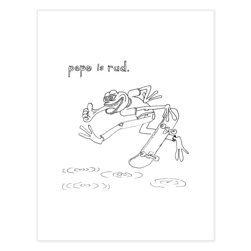Devin Flynn Home Fine Art Print by Save Pepe