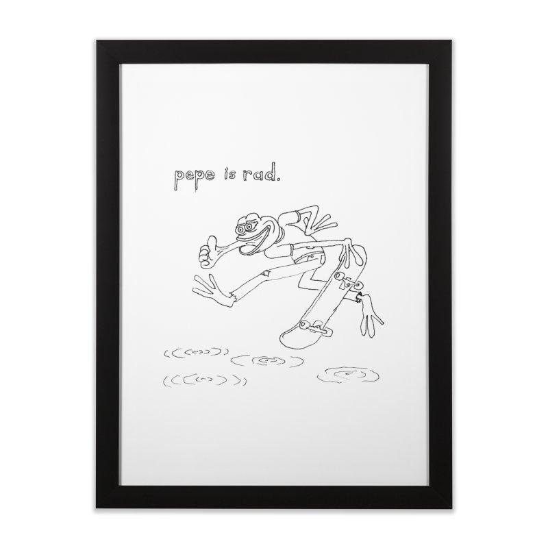 Devin Flynn Home Framed Fine Art Print by Save Pepe