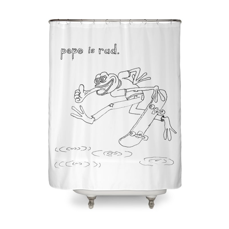 Devin Flynn Home Shower Curtain by Save Pepe