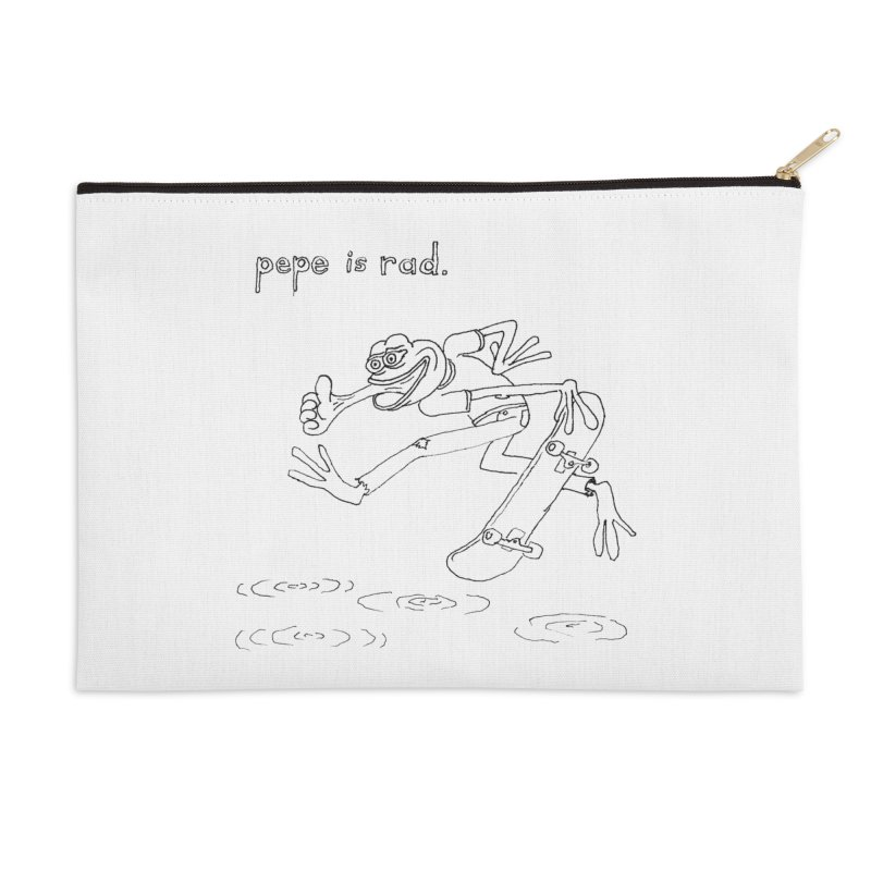 Devin Flynn Accessories Zip Pouch by Save Pepe