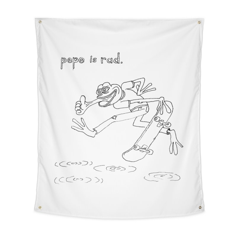 Devin Flynn Home Tapestry by Save Pepe