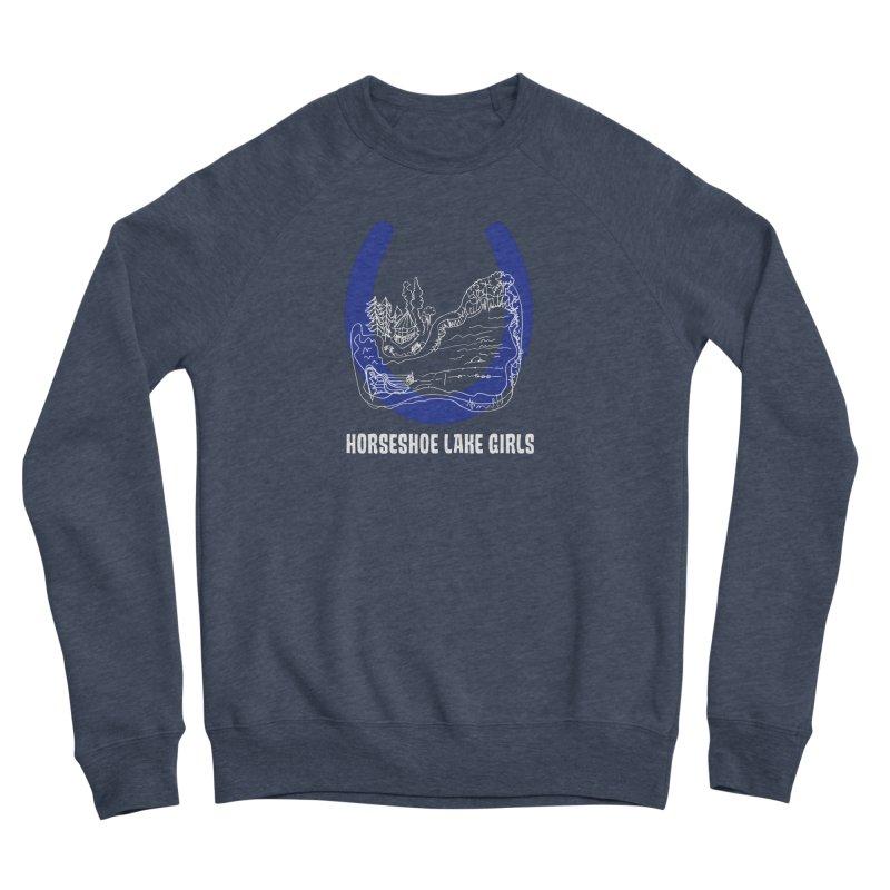 Horseshoe Lake Girls Men's Sponge Fleece Sweatshirt by