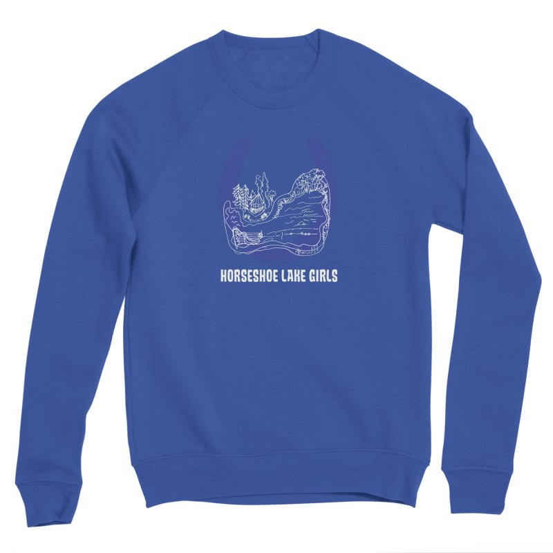 Horseshoe Lake Girls Men's Sponge Fleece Sweatshirt by