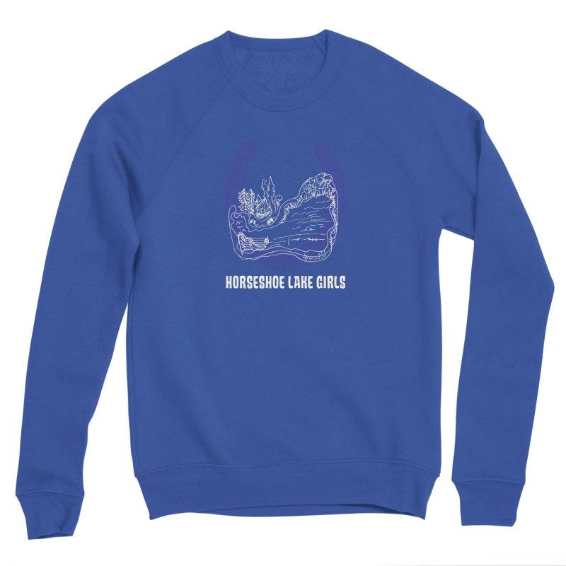 Horseshoe Lake Girls Women's Sponge Fleece Sweatshirt by
