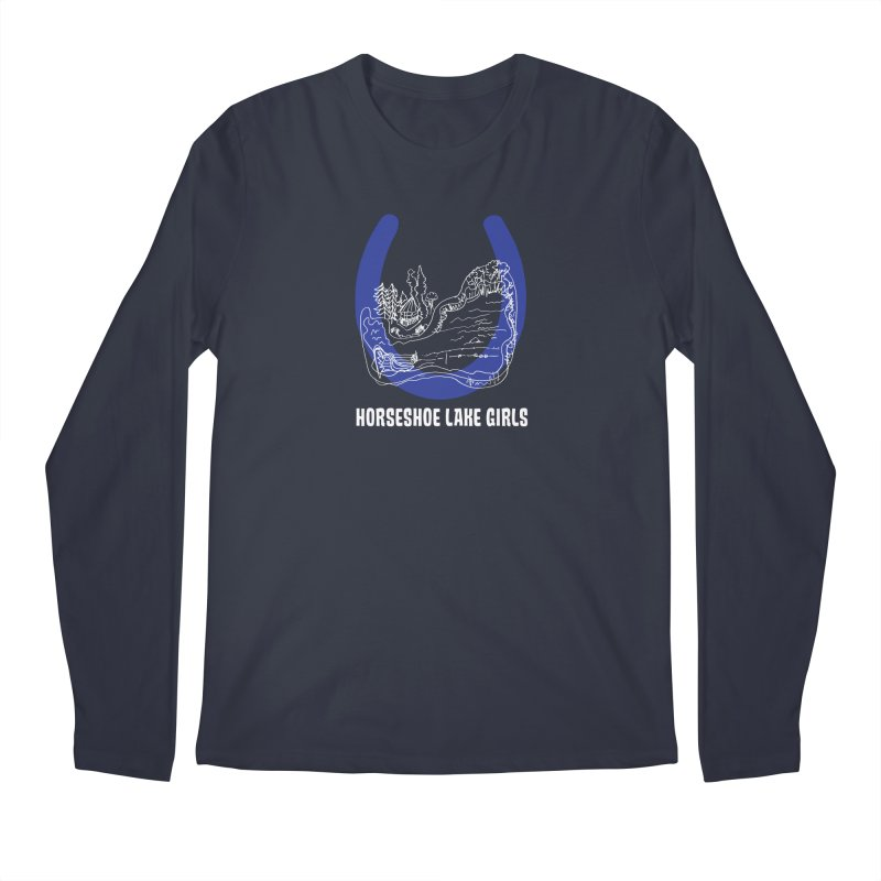 Horseshoe Lake Girls Men's Regular Longsleeve T-Shirt by