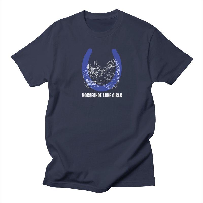 Horseshoe Lake Girls Men's Regular T-Shirt by