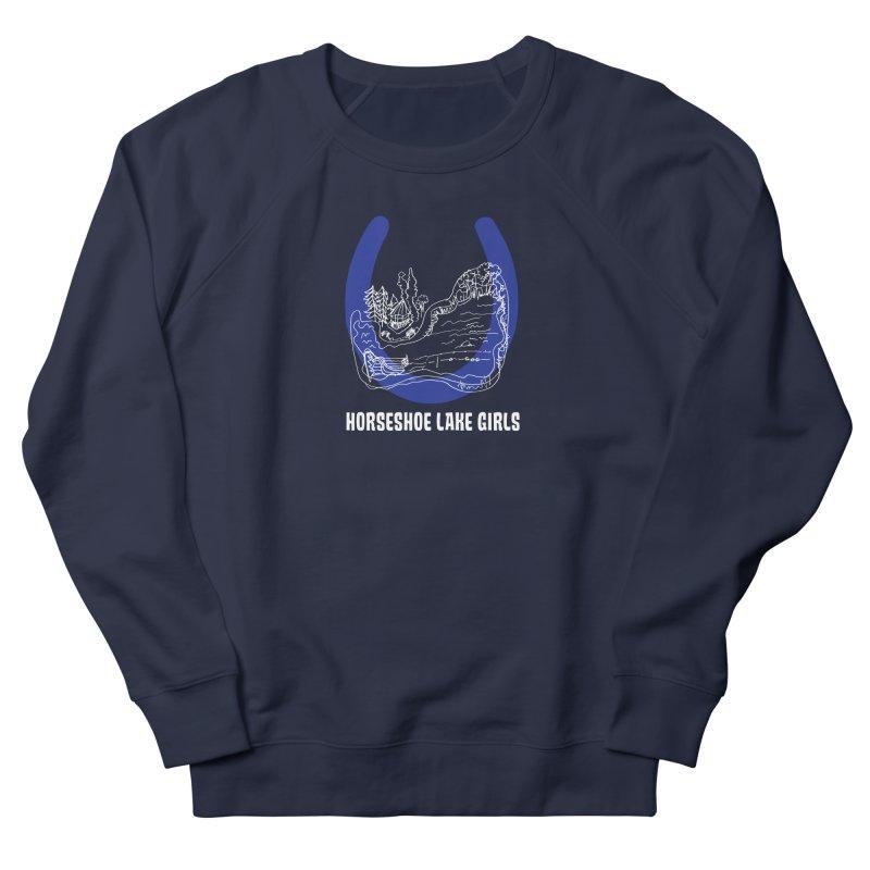 Horseshoe Lake Girls Men's French Terry Sweatshirt by