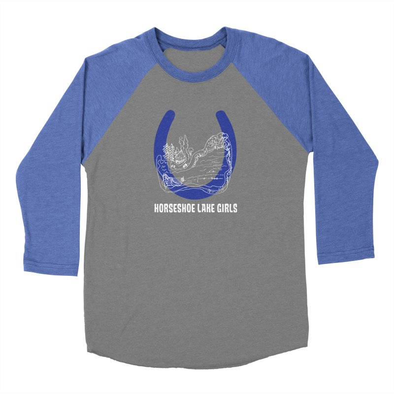 Horseshoe Lake Girls Women's Baseball Triblend Longsleeve T-Shirt by