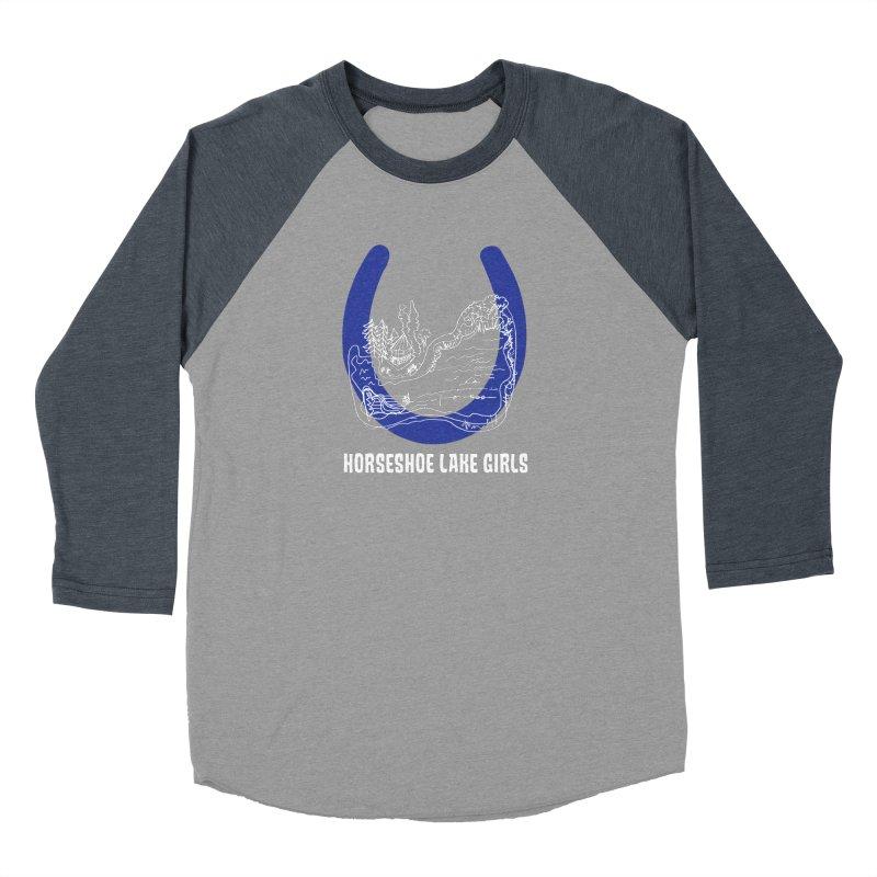 Horseshoe Lake Girls Men's Baseball Triblend Longsleeve T-Shirt by