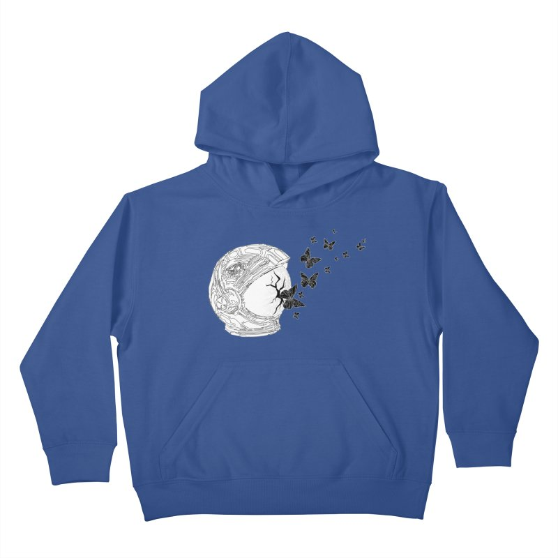Astro Fly Kids Pullover Hoody by