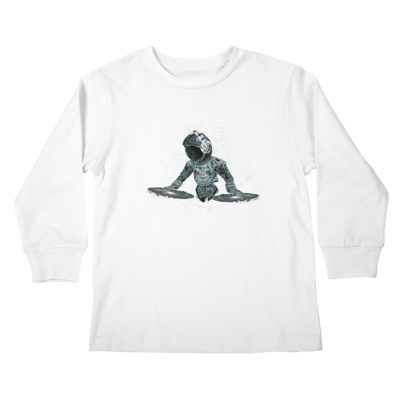 Astro DJ Kids Longsleeve T-Shirt by