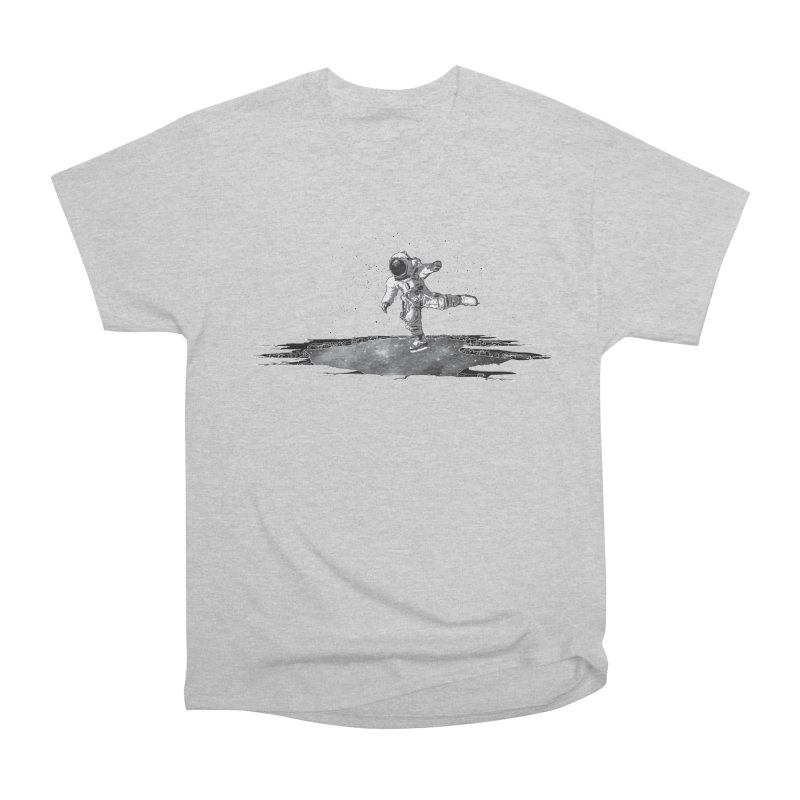Astronaut Ice Skating Women's Heavyweight Unisex T-Shirt by