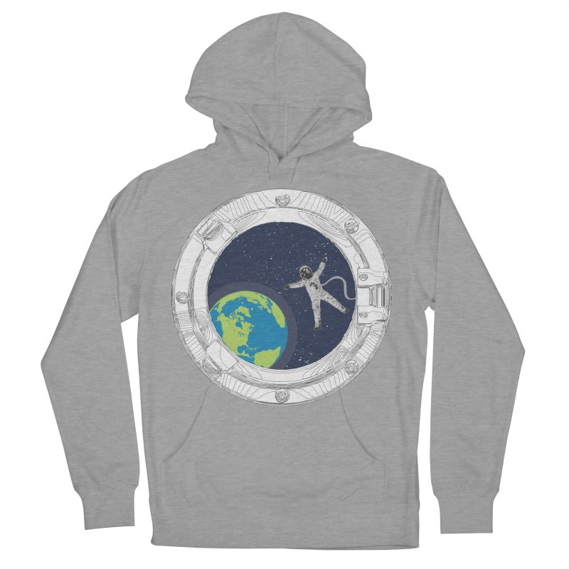 Spaceship Portal Men's French Terry Pullover Hoody by