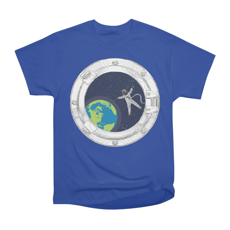 Spaceship Portal Women's Heavyweight Unisex T-Shirt by